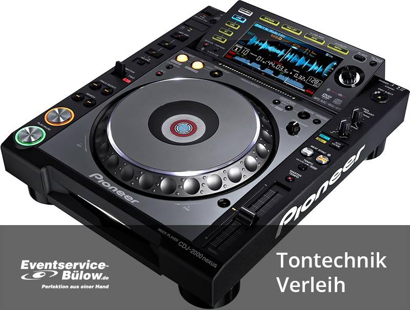 Tontechnik-Verleih-Eventservice Bülow