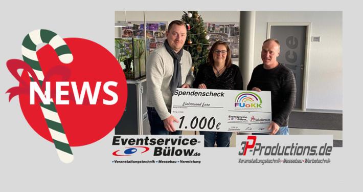 Weihnachtsspende 2019 Eventservice Bülow