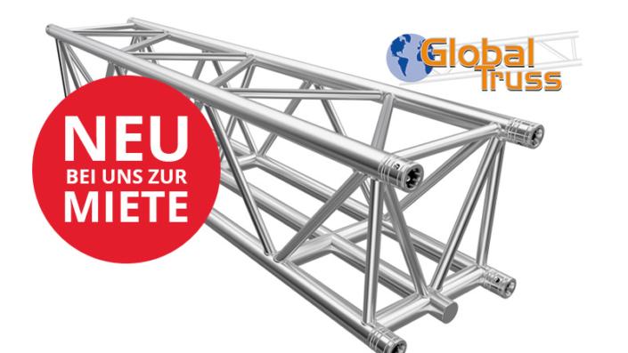 neue Traversen F45 von Global Truss bei Eventservice Bülow