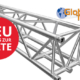 neue Traversen F45 von Global Truss bei Eventservice Bülow