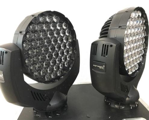 Lichtanlage mieten für Firmenevents Bülow Eventservice