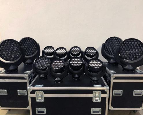 Lichttechnik mieten für Firmenevents Bülow Eventservice