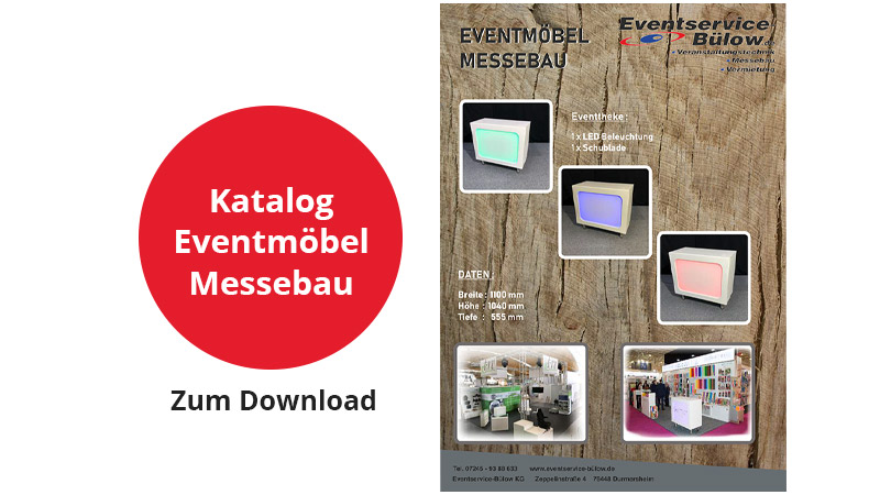 Event- und Messemöbelkatalog Eventservice Bülow