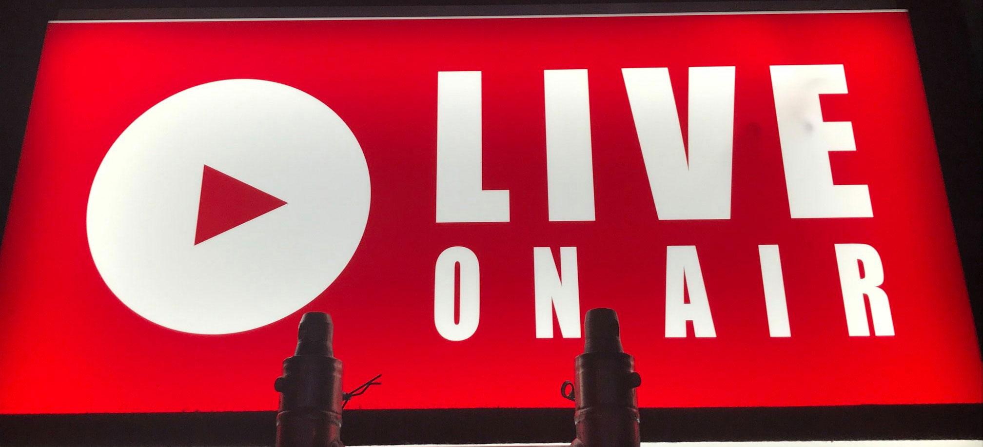 Livestream Aufnahmen im Eventstudio Eventservice Bülow
