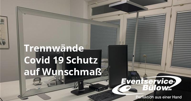 Trennwände Covid 19 Eventservice Bülow